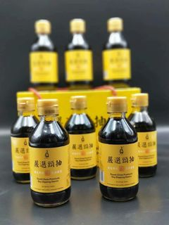 Good Chow Premium Soy Dipping Sauce 200ml*8 (Deliver to your family in China.)