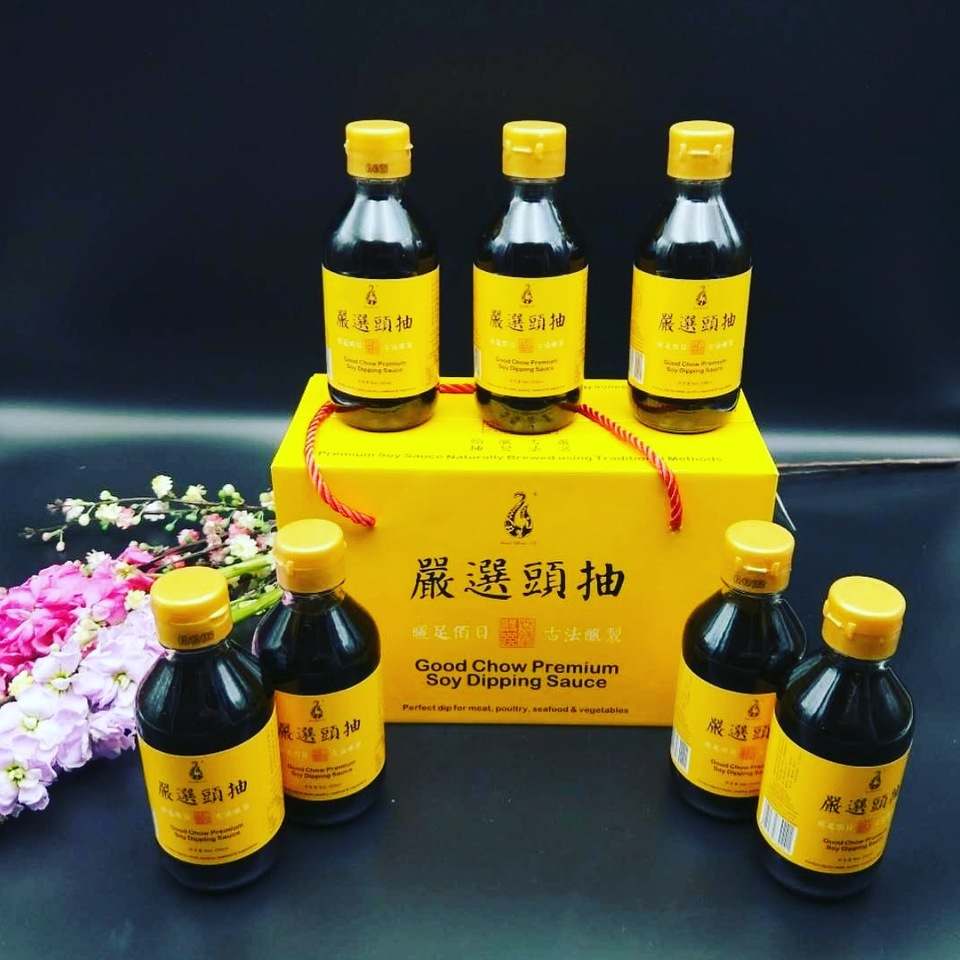 Good Chow Soy Dipping Sauce 200ml*8 bottles