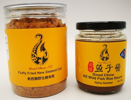 Fluffy NZ Fish Flake and NZ Wild Fish Roe Sauce