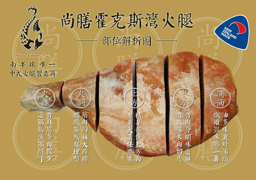 Premium Chinese Style Fermented Ham 5kg up